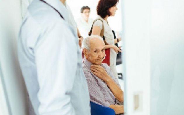 Ovidio González, retratado el 22 de junio cuando los médicos le informaron que su procedimiento de eutanasia se cancelaba. Foto: El Espectador.