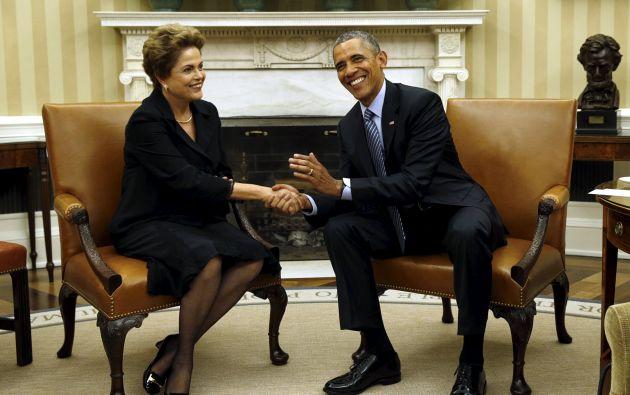La divulgación de la lista se produce solo días después de que Rousseff y Barack Obama, se reunieran en Washington para acabar con las tensiones por el espionaje de la NSA. Foto: REUTERS.