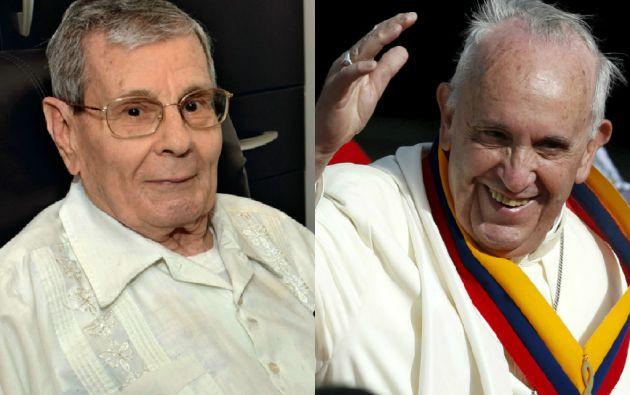 El padre Paquito pudo reunirse con Jorge Mario Bergoglio, ahora Papa Francisco, luego de tres décadas.