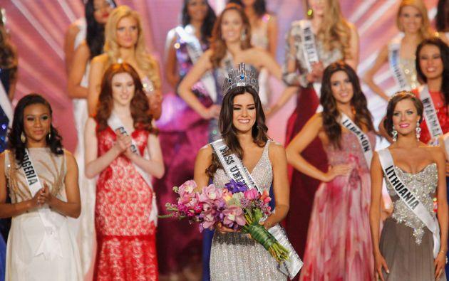 La colombiana Paulina Vega es la actual Miss Universo. Foto: REUTERS