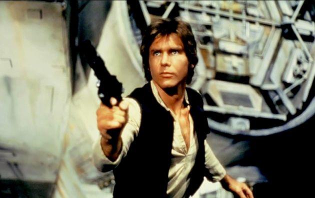 """Harrison Ford en la primera trilogía de """"Star Wars""""."""