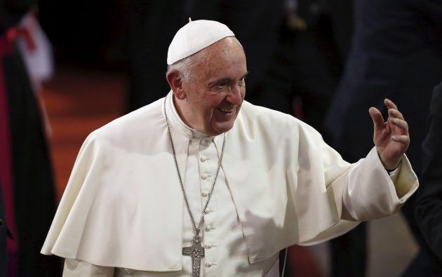 El papa Francisco en Bolivia. Foto: REUTERS.
