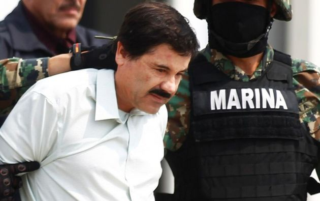 """Joaquín """"El Chapo"""" Guzmán, líder del cártel de Sinaloa, fue capturado en febrero de 2014."""