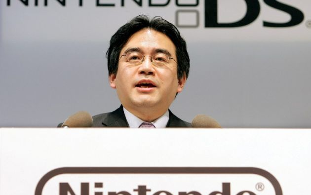 Satoru Iwata dirigía Nintendo desde 2002. Foto: AFP