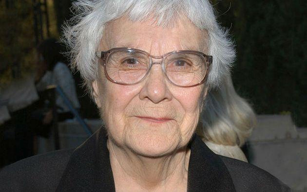 Harper Lee, escritora de 89 años nacida en Monroeville, Alabama.