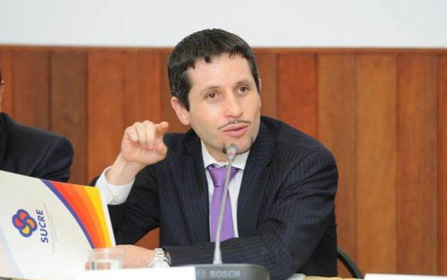 Villalba desempeñaba el cargo de gerente del Banco Central del Ecuador desde 2013. Foto: Flickr / Banco Central del Ecuador.