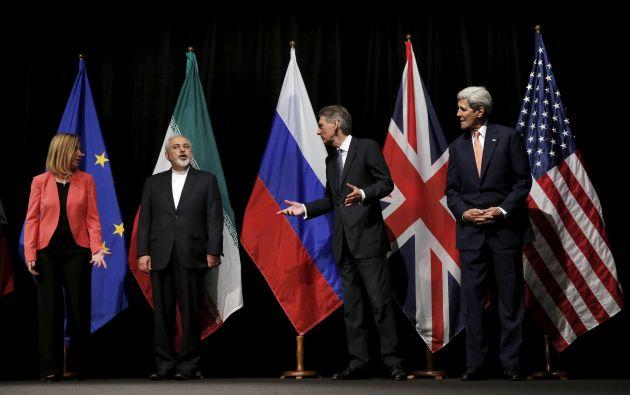 Irán y seis potencias internacionales lograron en Viena un histórico acuerdo. Foto: REUTERS.