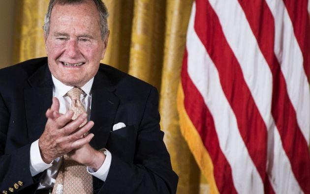 El expresidente está hospitalizado en un hospital de Portland (Maine) en condición estable. Foto: AFP.