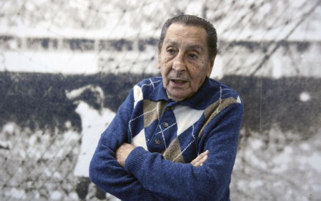 Alcides Ghiggia. Foto: AFP