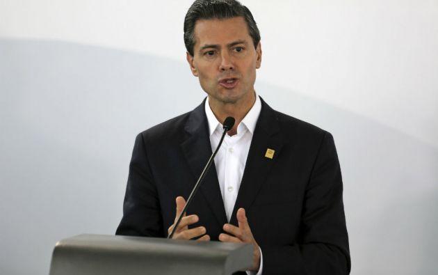 """Peña Nieto calificó la fuga de Guzmán como una """"afrenta para el Estado mexicano"""". Foto: REUTERS"""