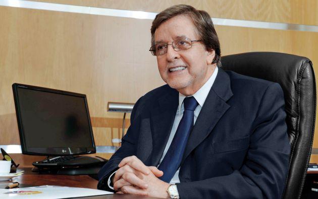 Eduardo Egas Peña. Guayaquileño de 65 años. Fue asesor del presidente Rafael Correa y del equipo de negociación comercial con la UE. Foto José Dimitrakis