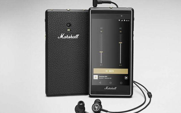 """Marshall entra en el negocio de los smartphones con """"London""""."""