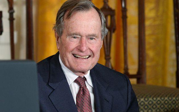 El expresidente de EE.UU. fue dado de alta este domingo tras ser atendido durante cuatro días. Foto: REUTERS