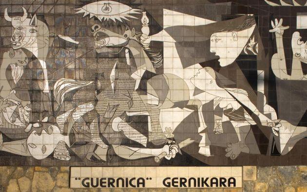 Guernica, de Pablo Picasso. Foto: Wikipedia.