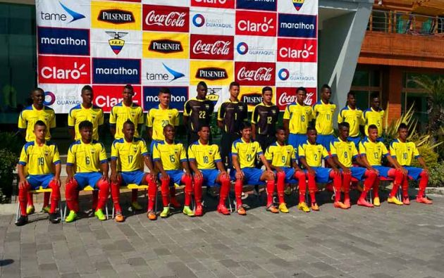 La selección de Ecuador SUB 17 clasificó al Mundial que se desarrollará en Chile en octubre próximo.