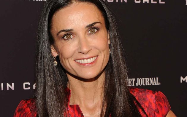Demi Moore es considerada una de las actrices más bellas de Hollywood.
