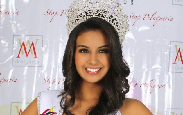 Dayanara Peralta, Miss Teen Universe 2015. Foto: Archivo