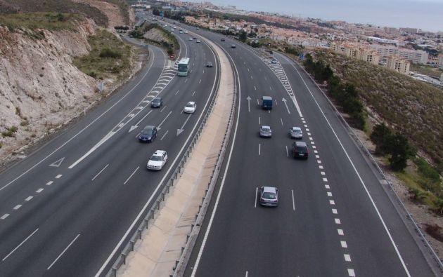 Autopista en Colombia.