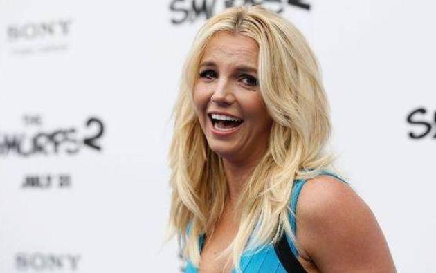 Spears compartió la foto a través de Twitter.