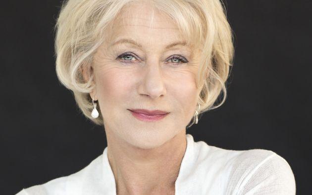 La actriz Helen Mirren cumplió recién 70 años.