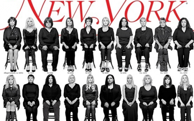 Portada de la revista New York Magazine.