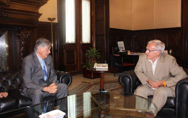Foto: Facebook / Embajada del Ecuador en España.