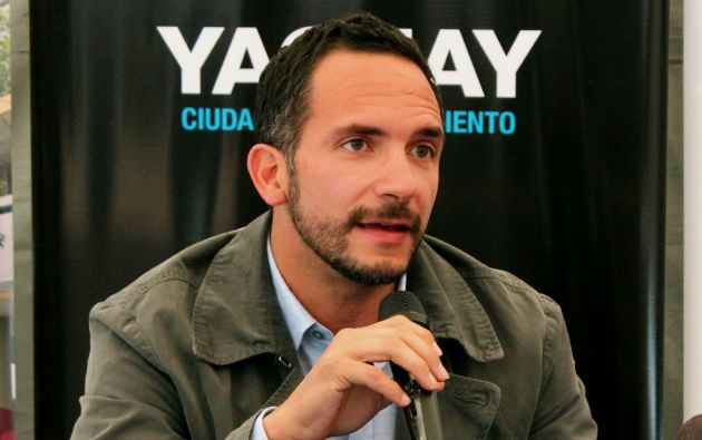 José Andrade, rector interino de Yachay Tech. Foto: Ciudad Yachay