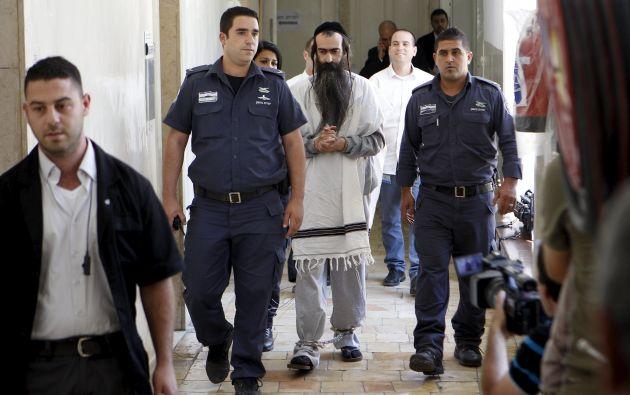 Yishaï Shlissel, colono ultraortodoxo. Foto: REUTERS