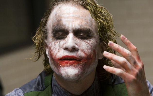 Heath Ledger murió en 2008.