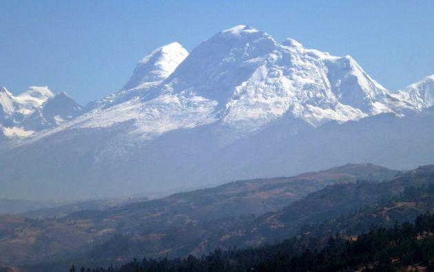 Nevado Huascarán.