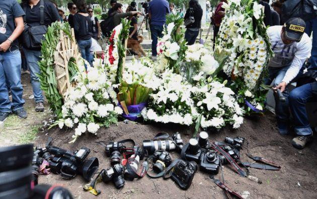 Rubén Espinosa fue asesinado el viernes de un balazo en la cabeza en un departamento junto con cuatro mujeres. REUTERS