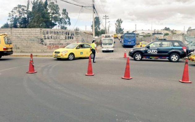 Una supuesta red de corrupción en la Revisión Vehicular de Quito fue de desarticulada. Foto: Agencia Metropolitana de Tránsito.