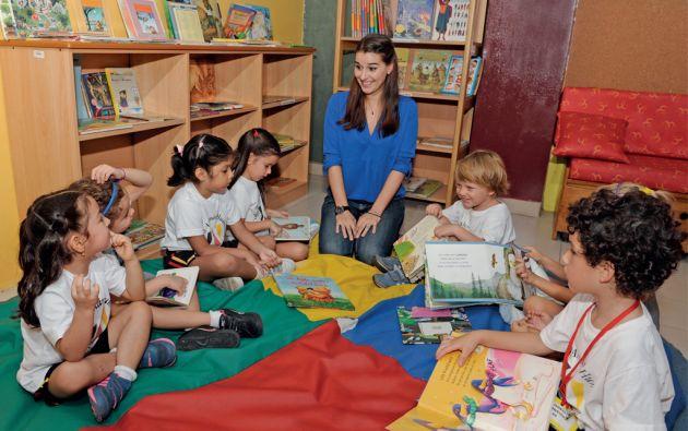 Barbara Schneider, directora de Educación Inicial del Colegio Alemán Humboldt de Guayaquil dice que el aprendizaje debe ser natural y sin presiones. Foto: José Dimitrakis