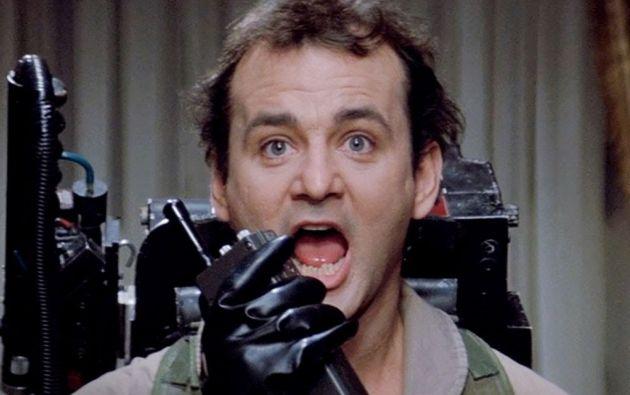 """Bill Murray en """"Ghostbusters""""."""