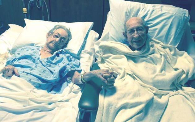 Tom y Arnisteen Clark dieron una verdadera lección de amor desde el hospital.