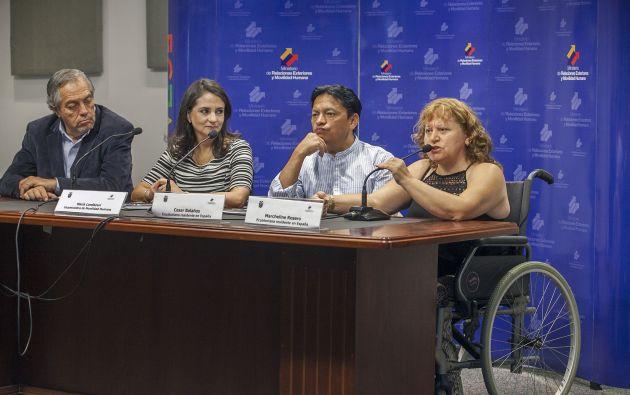 El Gobierno de Ecuador estableció desde 2012 un servicio de acompañamiento y asesoramiento jurídico para sus ciudadanos en situaciones desesperadas. Fotos: Flickr / Cancillería Ecuador.