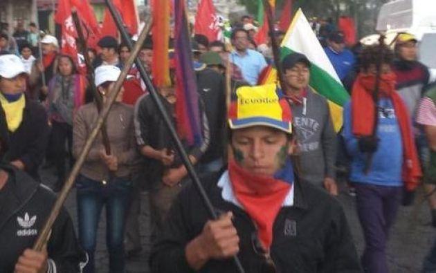 Foto: Twitter / Conaie Ecuador.