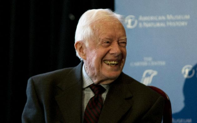 Jimmy Carter, expresidente de Estados Unidos. Foto: REUTERS