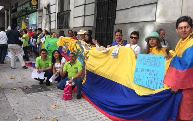 Foto: Twitter / Alianza País Madrid.