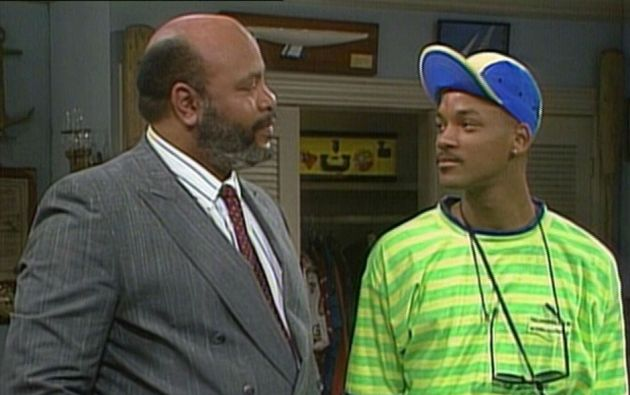 "James Avery y Will Smith en ""The Fresh Prince of Bel-Air""."