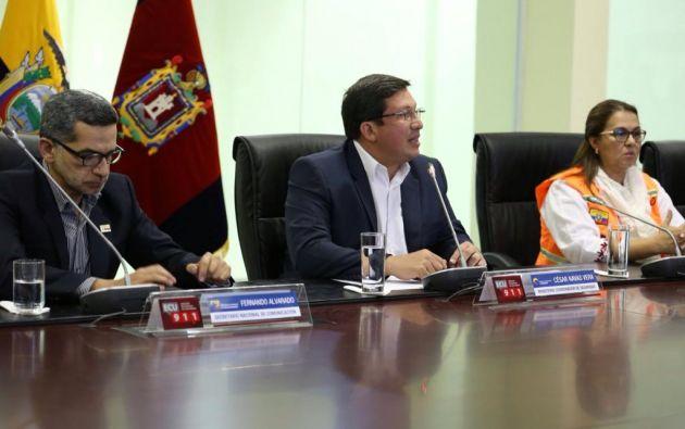 Foto: Ministerio coordinador de Seguridad.