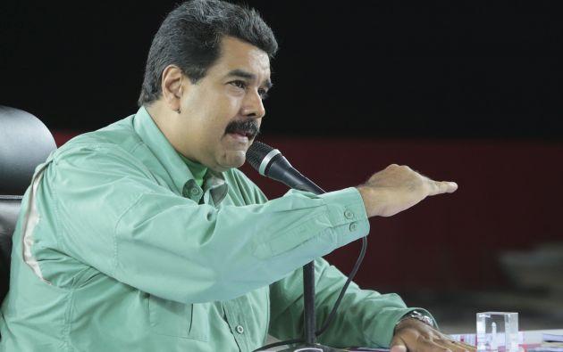 Nicolás Maduro, presidente de Venezuela. Foto: REUTERS.