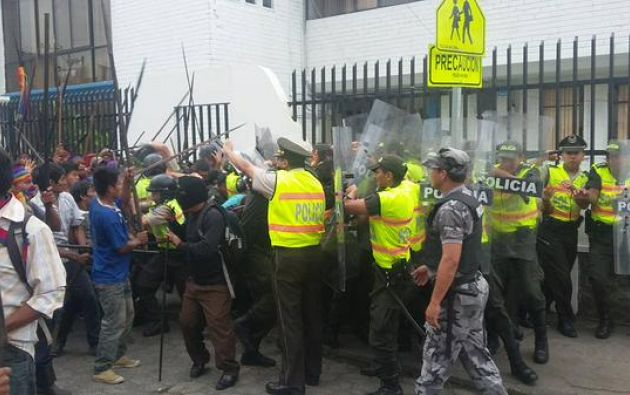 Levantamiento ind gena vistazo for Twitter ministerio del interior ecuador