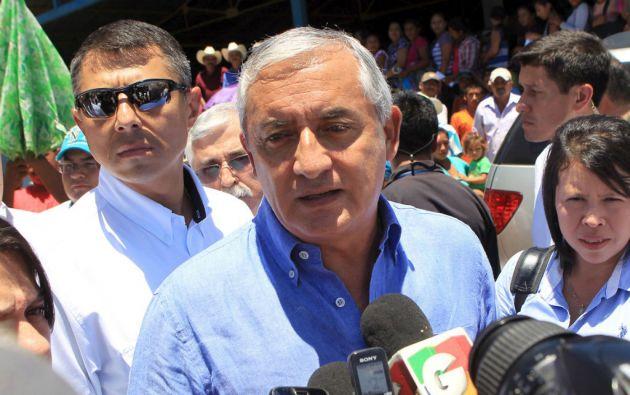 Otto Pérez Molina, presidente de Guatemala. Foto: REUTERS