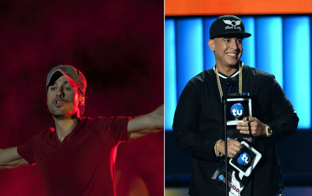 Enrique Iglesias y Daddy Yankee.