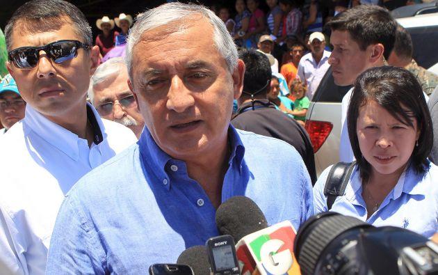 El presidente de Guatemala, Otto Pérez. Foto: REUTERS