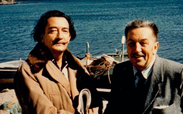 Salvador Dalí y Walt Disney.