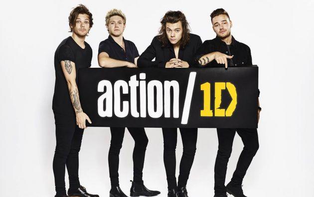 One Direction está actualmente de gira por Estados Unidos.