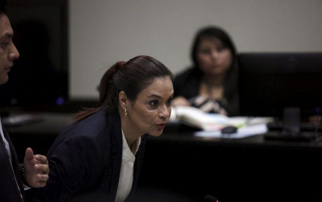 Exvicepresidenta Roxana Baldetti. Foto: REUTERS