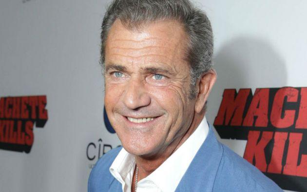 """Gibson se encuentra en Australia para preparar el rodaje de la película """"Hacksaw Ridge""""."""